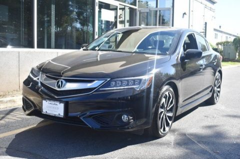 Certified Pre-Owned 2017 Acura ILX with Premium and A-SPEC Package 4dr Car