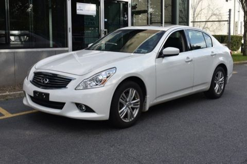 Pre-Owned 2012 INFINITI G25 Sedan x AWD